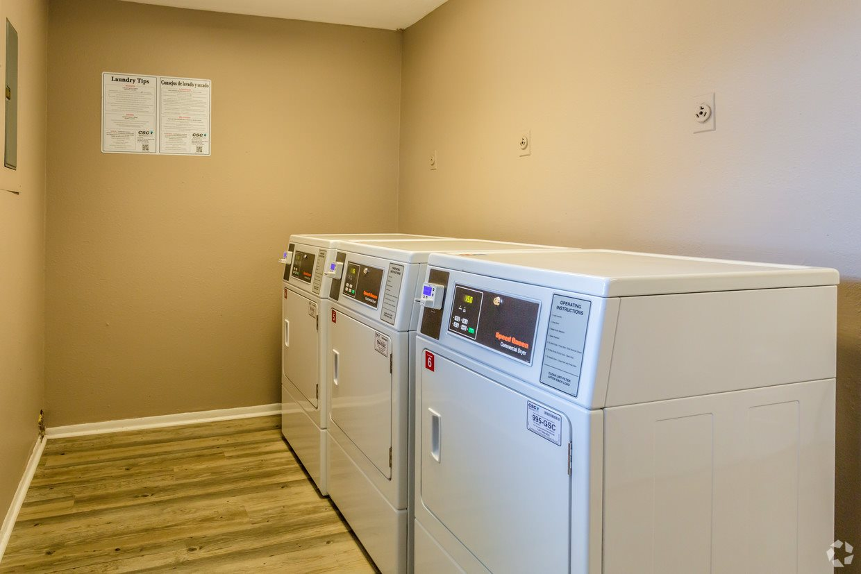 full sized laundry room available